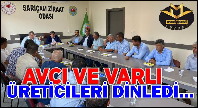 """""""Ankara'da samimiyetle çiftçilerimizin sesiyiz"""""""