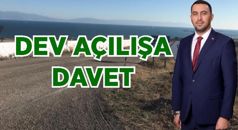Başkan Özsoy'dan Dev Yatırımın Açılışına Davet