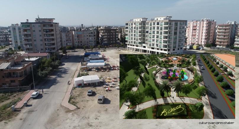 Ceyhan'da parksız mahalle kalmayacak sözü