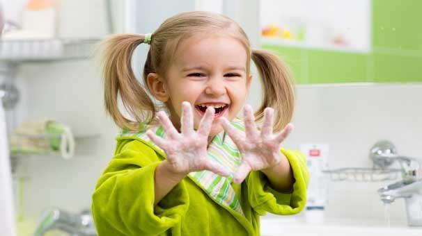 Çocuklara el yıkama alışkanlığı kazandırın