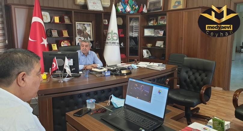 CTO Başkanı Şeref Can, Elektronik Ortamda Yapılan TOBB 76.-77. Genel Kuruluna katıldı