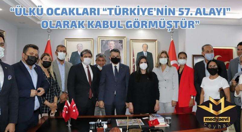 Pakdemirli ve Sarıeroğlu'ndan MHP Adana İl'e ziyaret…