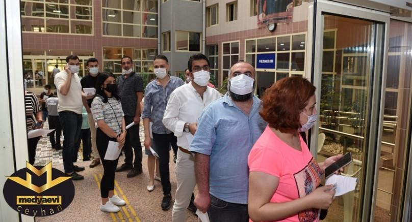 Seyhan Belediyesi Çalışanlarının İlk Doz Aşıları Yapıldı